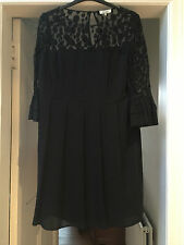 Somerset da Alice Temperley Little Black Dress (Taglia 18)