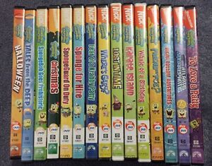 15 Spongebob Squarepants Dvds 112 Episodes Total Ebay