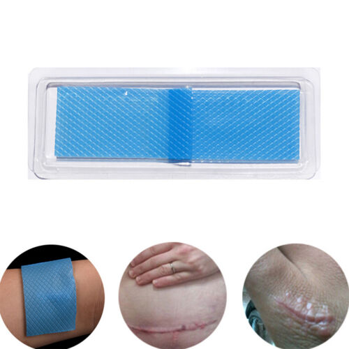 Scars Silicon Patch Removals Patch Reusable Acne Gel Remove Skin Repair~~
