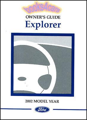explorer  ford owners manual book   handbook