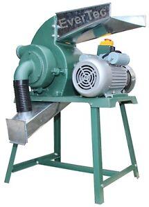 Hammermuehle-2-2KW-Stroh-Futter-Muehle-Schredder-Getreidemuehle-Hammer-Mill-Zyklon