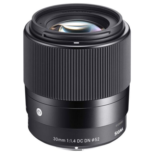 Sigma 30mm f/1.4 DC DN Contemporary Monte Lente Sony E, IN SCATOLA Nuovo di zecca