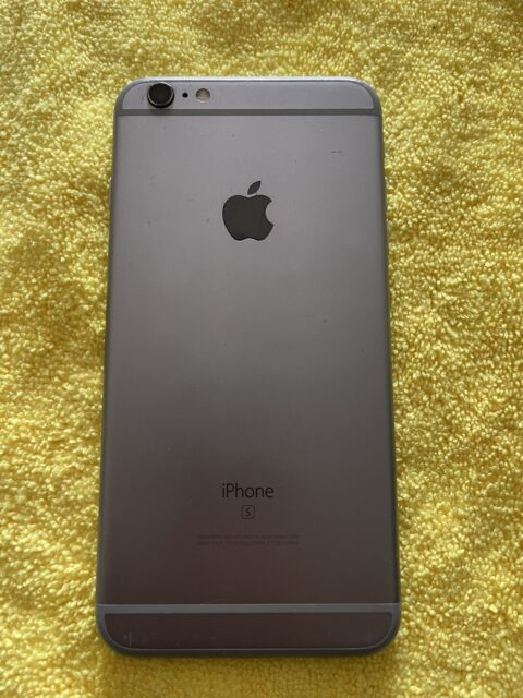 Apple iPhone 6s Plus 128gb Space Gray A1634 (AT&T Locked) Broken.