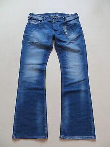 Diesel-ZATHAN-wash-0831D-STRETCH-Bootcut-Jeans-Hose-W-32-L-30-NEU-RARITAT