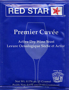 Making 5g Pack You Pick From 1 To 10 Packs Red Star Premier Cuvee Wine Yeast
