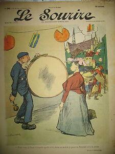 LE-SOURIRE-N-245-JOURNAL-HUMORISTIQUE-DELANNOY-POULBOT-ROUBILLE-VILLEMOT-1904