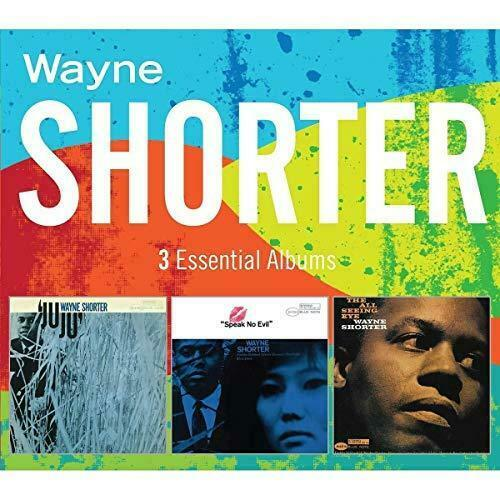 Wayne Shorter - 3 Essential Albums (NEW 3CD)