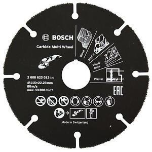 BOSCH 2608623012 Scheibe Universal IN Silizium-Karbid Für Mühle 115 MM