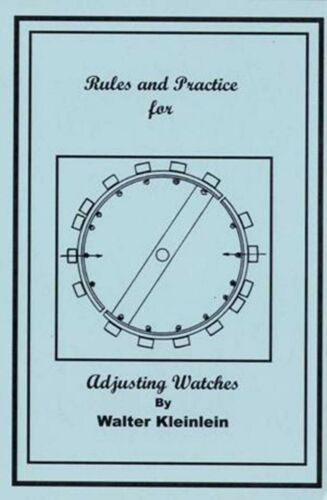 How to PDF Book Rules /& Practices for Adjusting Watches