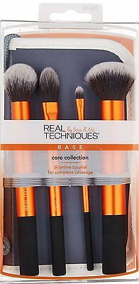 Real Techniques Core Collection Brush MakeUp Make Up Set US Free Shipping