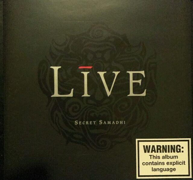 LIVE - SECRET SAMADHI CD ( New