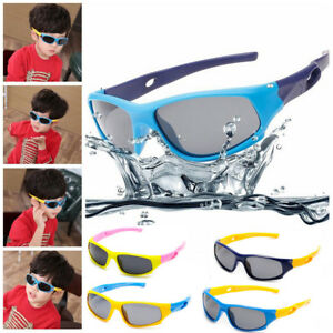 Kids-Polarized-Sport-Sunglasses-Children-Boys-Girls-Outdoors-Cycling-Eyewear-UV