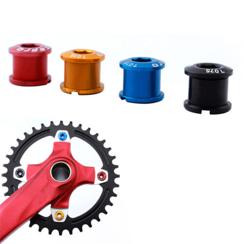 5x Mountain Bicycle Chainring Bolts Single Speed Bike Chainwheel Crankset Screws