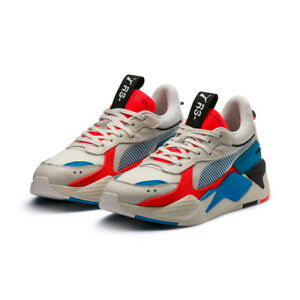1726d5f12200 PUMA RS-X Reinvention Sneakers Shoes-Whisper White Red Blast(369579 ...