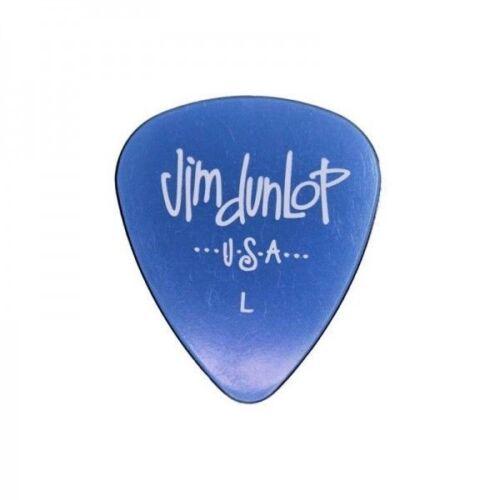 L Light Dunlop Gel Standard Blue Guitar Pick