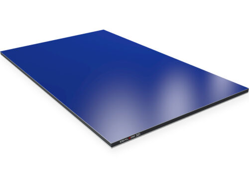 Kunststoff Aluverbundplatte 3mm Blau-RAL5002 Verbundplatte aus Aluminium u