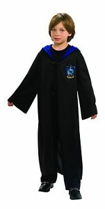 Harry-Potter-Ravenclaw-Child-Hooded-Robe-Clasp-Costume-Cape-Cloak-Licensed