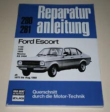 Reparaturanleitung Ford Escort Mk II / Mark 2 1100 / 1300 / 1600 / Mexico / RS