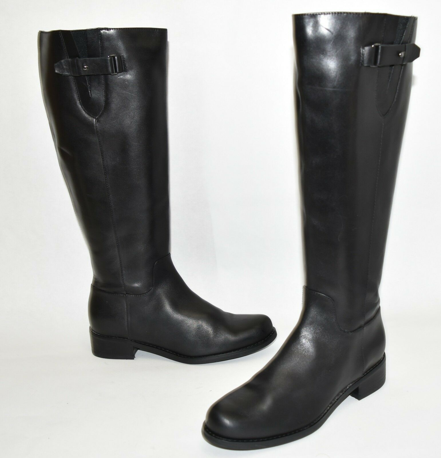 Blondo Volly Waterproof Riding Boot Black Leather B5668 Size 6.5
