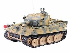 German Tiger I Battle Tank RC Sound 1/24 Model WWII Heavy Panzer with Airsoft...