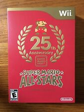 BRAND NEW Super Mario All-Stars 25th Anniversary LIMITED EDITION Nintendo Wii