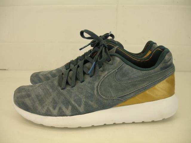 Mens 8 41 Nike Roshe Tiempo VI FC bluee Fox gold Running shoes Sneaker 852613-400