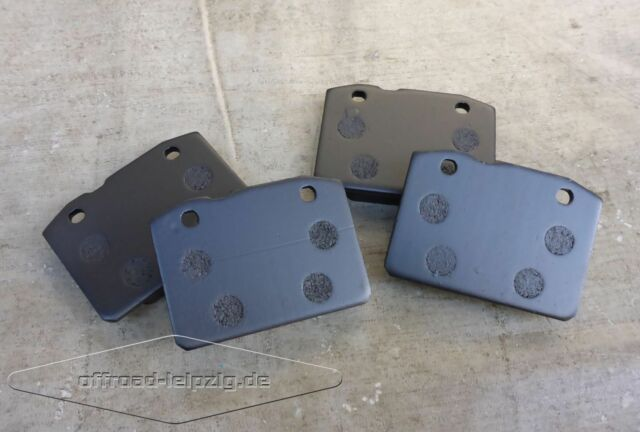 Bremsklötzer vorn Lada 2101 - 2107, Bremsbelagsatz, Bremssteine, Bremsbeläge