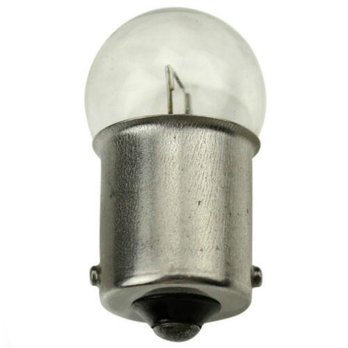 10 x 245 12V 10W Car Van Side Tail Rear Lights Bulbs SINGLE BACK BAY15S G18 1156