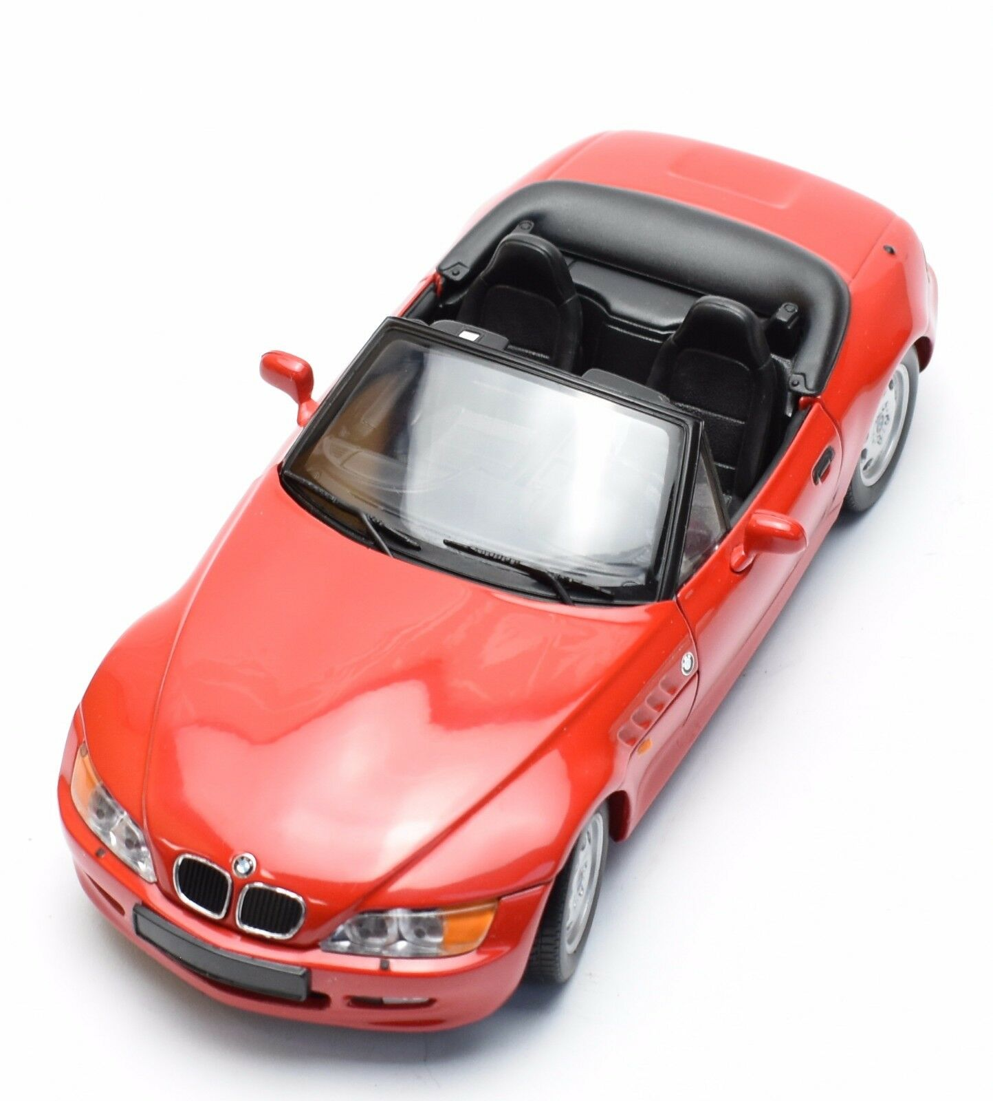 Ut auto deportivo clásico bmw z3 roadster en rojo lacado, OVP, 1 18, k027