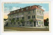 Hotel Hamilton ANTIQUE SEASIDE HEIGHTS NJ Rare Jersey Shore ca. 1920s