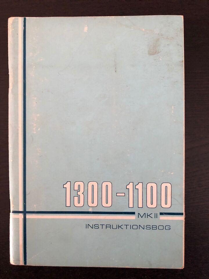 Retro Instruktionsbøger , Retro instruktionsbøger til