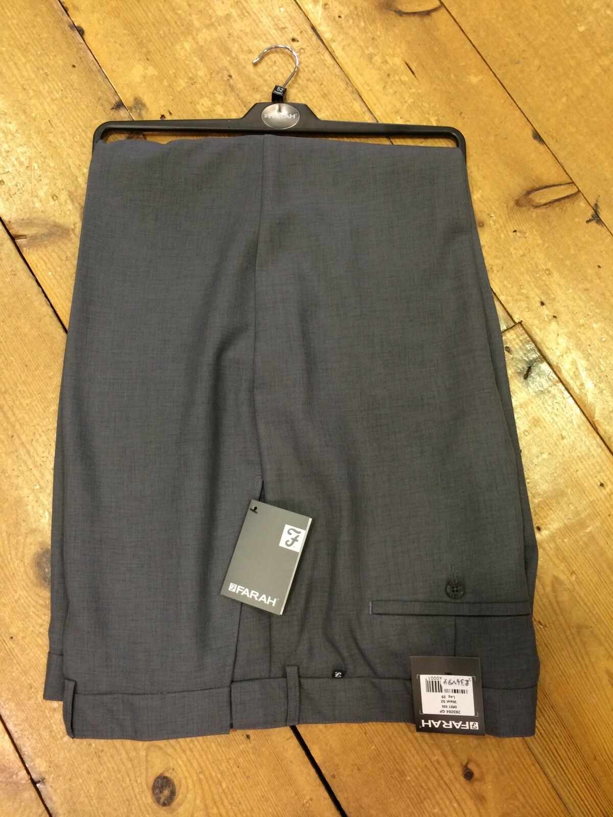 Farah Kingsize Flex Trousers Grey - 50 33