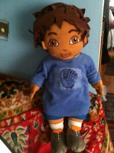 30-034-HUGE-LARGE-DIEGO-Nick-Jr-JUMPER-SWEATER-Plush-Doll-Viacom-good-condition