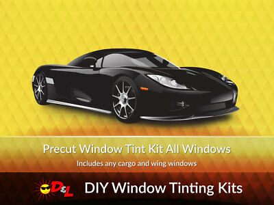 Front Doors Precut Window Tint For Chevy Camaro 1993-2002