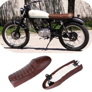 Plana-Motocicleta-Cafe-Racer-Asiento-Vintage-para-Honda-CG125-GN-CG-CB400SS