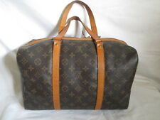 AUTH Louis Vuitton Monogram sac souple 35 mini boston travel --TOTE Bag /purse