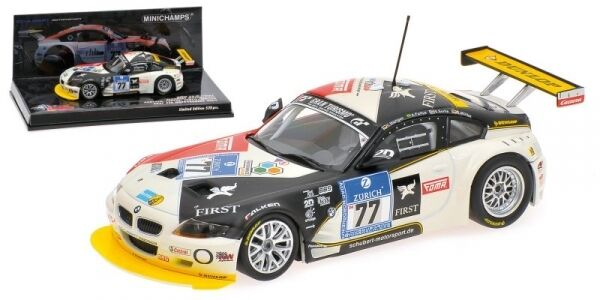 Bmw Z4 M Coupe' Muller Sorlie 24h Nurburgring 2009 1 43 Model MINICHAMPS