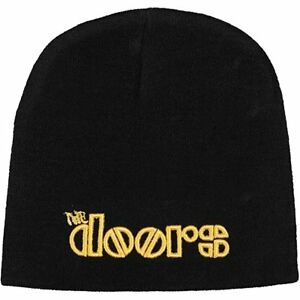 Doors Beanie Hat Zuccotto Logo Official Merchandise