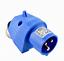 CEE Wand//Geräteaufbaustecker IP44,3 Polig,16A,230V,Caravan,WOMO,Boot,Heim /&Haus