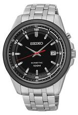 SKNP SKA635P1 Seiko Gents Kinetic Stainless Steel Bracelet Watch