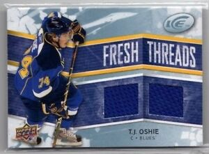 2008-09-UPPER-DECK-ICE-FRESH-THREADS-JERSEY-T-J-OSHIE-FT-TO-RC
