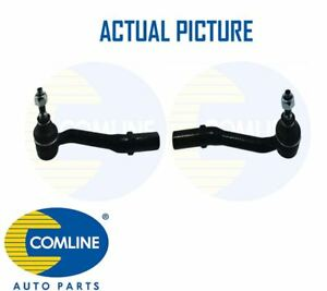 2-x-NEW-COMLINE-FRONT-TRACK-ROD-END-RACK-END-PAIR-OE-QUALITY-CTRE1133