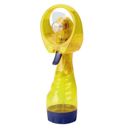 Mini Handheld Misting Cooling Fan Battery Operated Water Sprayer Outdoor Supply