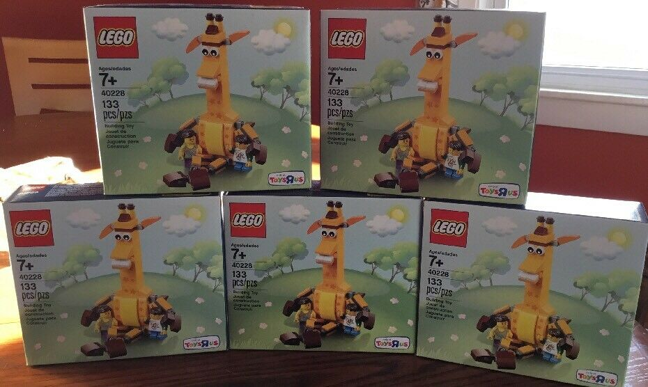 New New New Lego 40228 Geoffrey and Friends Toys R Us Lot of 5 c2bdd8