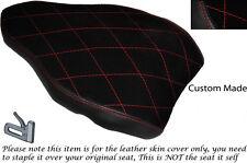 RED DIAMOND STITCH DESIGN CUSTOM FITS DUCATI 1198 848 1098 REAR SEAT COVER