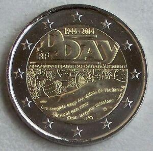 2 Euro France 2014 70 Ans D-day Unz.-afficher Le Titre D'origine 9tpzzbng-07224914-923224331