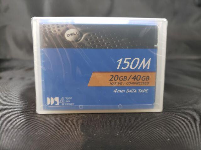 New DELL 09W083 4mm DDS-4 20GB/40GB Data Cartridge! Sealed! Genuine! Data Tape!