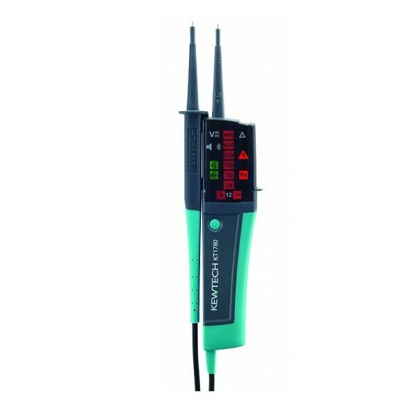 Kewtech KT1780 Voltage Tester with Calibration Certificate - Kewtech Distributor