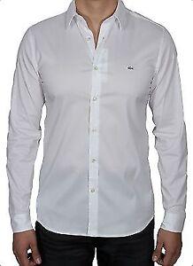 d80b9980 Lacoste Men's Slim Fit Stretch Cotton poplin Shirt CH2561-51 001 ...