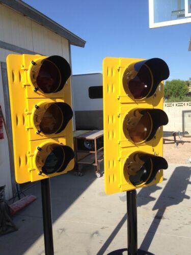 12in Traffic Signal Eyebrow Three 3